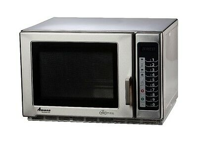 Amana Rfs12ts 1200w Stainless Microwave Oven 1.2 Cu.ft Medium Volume