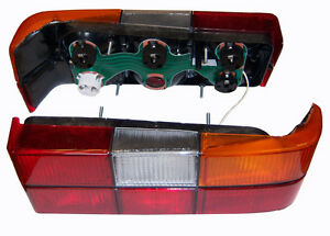 Volvo 240 244 Tail Light Complete Right Side. Black Molding MADE IN EU 1372450 _