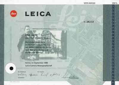 LEICA Camera AG 1996 Solms Wetzlar Emil Leitz Oskar Barnack 5 DM Carl Keller TOP