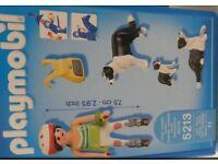 Playmobil 5213 Figure Set - Border Collie Family