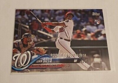 R56,936 - 2018 Topps Update #US104 Juan Soto Rookie Nationals