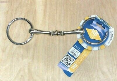 Sprenger Dynamic Rs Eggbutt Unisex Saddlery Snaffle Bit Gold All Sizes