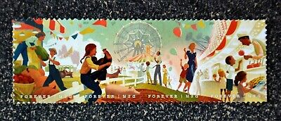 2019USA #5401-5404 Forever State & County Fairs - Strip of 4  Mint  pair