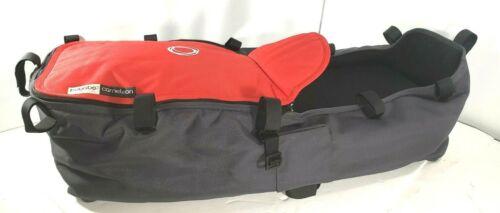 Bugaboo Cameleon Stroller Pram Bassinet Grey Canvas CarryCot, Mattress, Cover