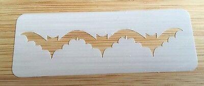 Face painting stencil reusable washable BATS 190 Mylar glitter henna tattoo