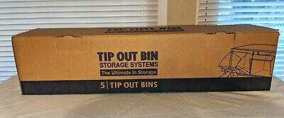 Quantum Storage Systems 5 Tip Out Bins Three Available