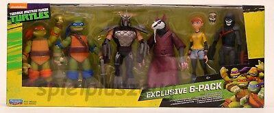 Teenage Mutant Ninja Turtles Exklusiver 6er-Pack Shredder Splinter - Ninja Turtle Splinter