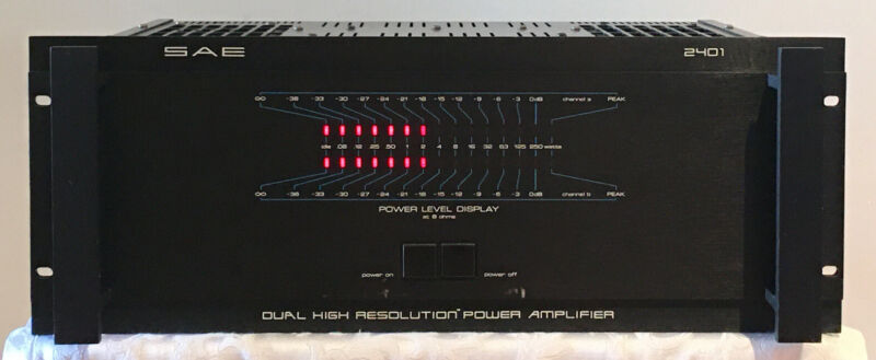 SAE 2401 POWER AMPLIFIER