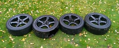 """BMW Z3 E36 alloy wheels Style 18 17"""" staggered 7,5 & 8.5J with premium tyres"""