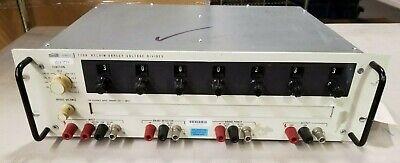 Fluke 720a Kelvin Varley Voltage Divider High-resolution Primary Ratio Standard