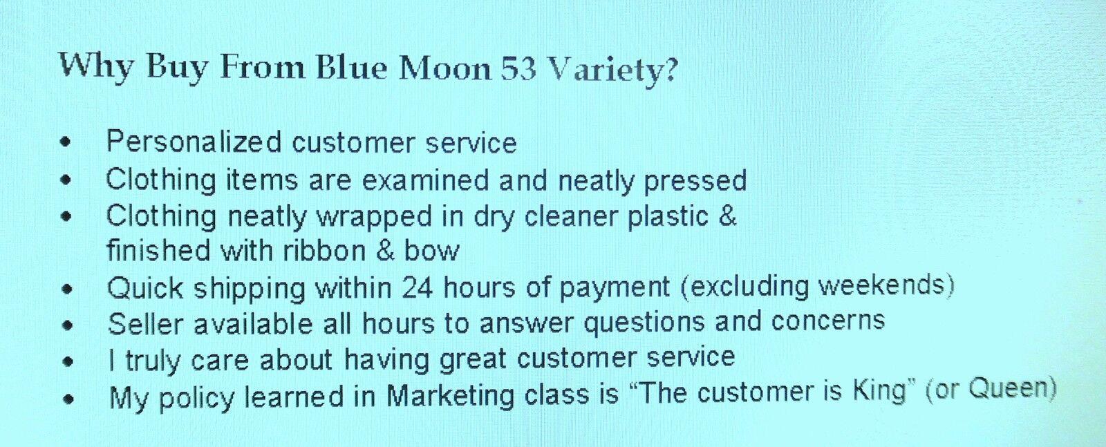 Blue Moon 53 Variety