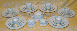 "33 Pce. 6 Place Setting, Minton ""Symphony"" Dinner, Tea Set"