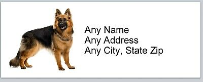 Personalized Address Labels German Shepherd Buy 3 Get 1 Free Ac 772