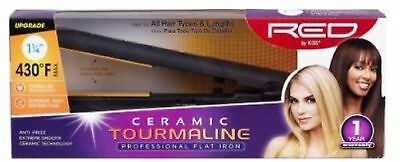 Kiss Products Red Ceramic Tourmaline Professional Wet To Dry