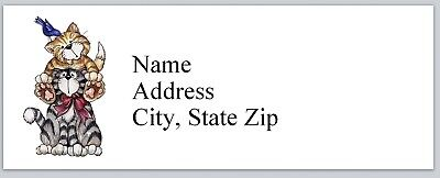 Personalized Address Labels Primitive Country Cats Buy 3 Get 1 Free P 631