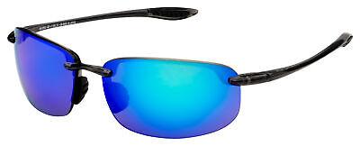 Maui Jim Hookipa Sunglasses B407-11 Smoke Grey | Blue Hawaii Polarized (Hookipa Maui)