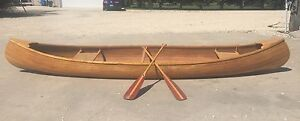 Hand Crafted Canoe