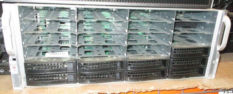 """NETGEAR EDA4000 Bay Config (24x 3.5"""" SAS) w/9x HDD sleds"""