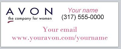 Personalized Address Labels Avon Buy 3 Get 1 Free Xco 949