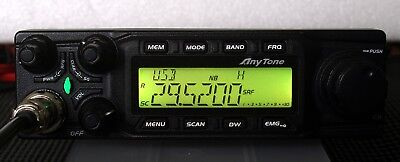 Anytone At6666 All Mode 10 Meter Mobile Radio Am Fm Usb Lsb Cw Pa   All Mode