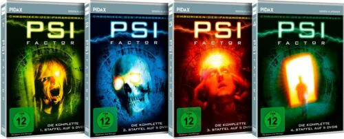 Gesamtedition - PSI Factor * komplette Mystery-Kultserie auf 20 DVDs * Pidax Neu