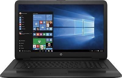"""New HP 17.3"""" Laptop Intel Core i5-7200U 8GB Memory 1TB HDD DVD/CD burner Win 10"""