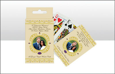 Prince Harry   Meghan Markle Royal Wedding Commemorative Playing Cards