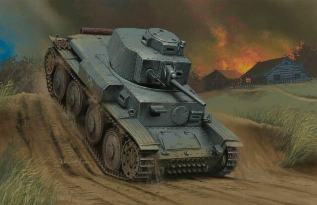German Panzer Kpfw.38(t) Ausf.G HBB80137 - Hobbyboss 1:35 scale model kit