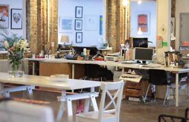 Creative Studio Desk Space for Illustrators and Designers