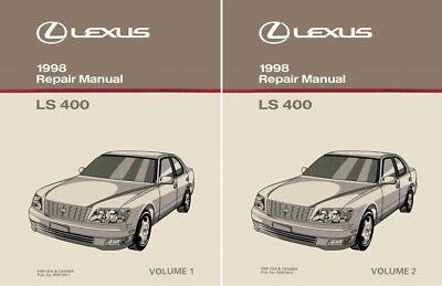 1998 Lexus LS 400 Shop Service Repair Manual