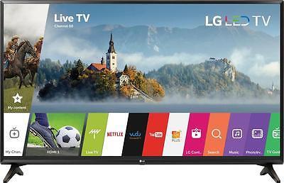 "Open-Box Certified: LG - 32"" Class - LED - LJ550M Series - 720p - Smart - HDTV"