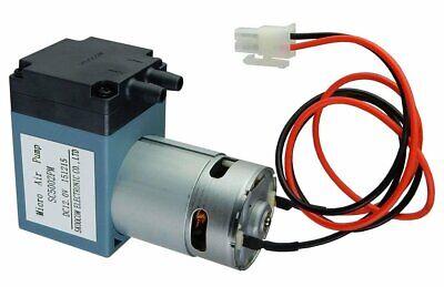 12 V Dc Single Diaphragm Head Pressure Vacuum Pump - 10 Lmin - 29 Psi Max