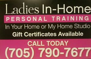 Ladies Personal Training In Your Home In Barrie/Wasaga/Collingwo