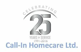 TO ALL CARE WORKERS IN LINLITHGOW - TOP PAID JOBS (up to £9/hr) AVAILABLE WITH CALL-IN HOMECARE LTD.