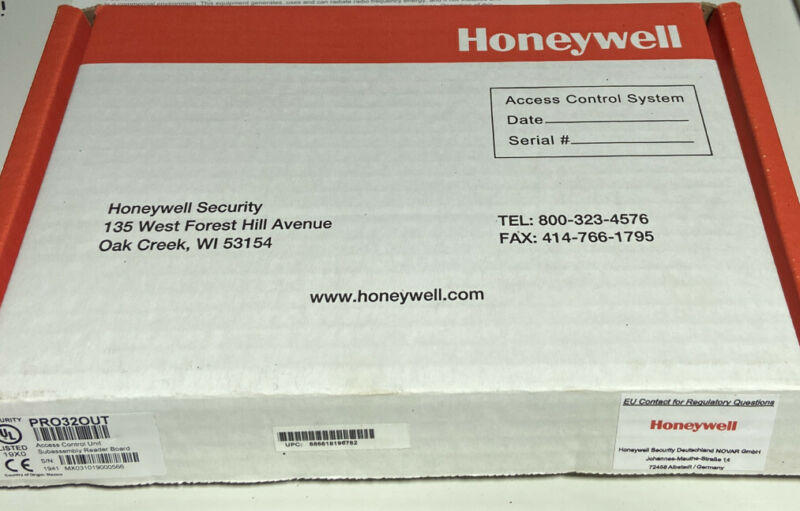 Honeywell Access PRO32OUT