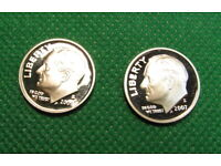 2009-S  Deep Cameo  Roosevelt Dime  US GEM  Proof Coin c//n clad