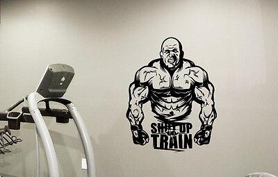 Gym Motivation Wall Art Decal Workout Sport Fitness Vinyl Sticker Decor 78quo