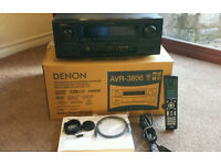 Denon AVR 3806 HDMI 160 Watt 7.1 Receiver Amplifier in Original Box