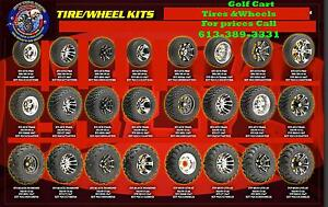 Golf Cart Wheels Rims - Tires - Batteries - Lowest PRICES CANADA Kingston Kingston Area image 3