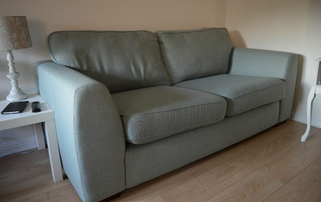 Dfs Vale 3 Seater And 2 Seater Fabric Sofa Set Mint In