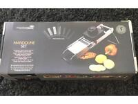 Master Class Stainless Steel Mandoline Set - Brand New