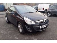 2013 (13) Vauxhall Corsa 1.3 CDTI Diesel ecoFLEX 16v SE 3dr (Start/Stop, A/C) £20/Year Tax.