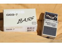 GEB-7 Boss Bass Equalizer Pedal
