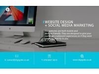Website design and development in London