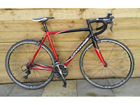 Cannondale CAAD8 54cm bicycle full ultegra with RS80 C24 wheel upgrade