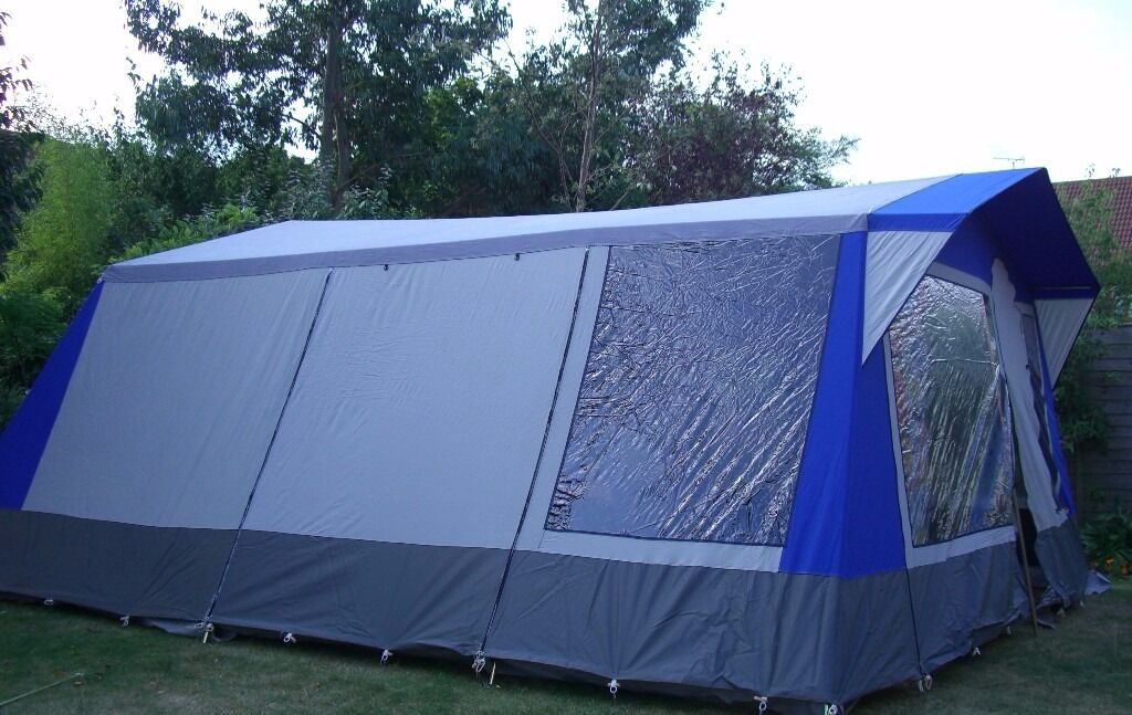 Cabanon montpellier 6 berth frame tent in norwich for How to build a canvas tent frame