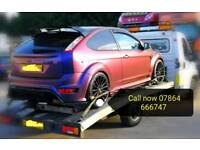 Car Vehicle 24/7 Breakdown Recovery Collection & Transporting service Leicester local & M1 A46/7 M69