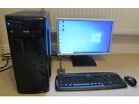 Hi Spec Desktop Computer System Windows 10 SSD