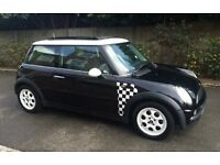 AUTOMATIC MINI COOPER 2002 VERY LOW MILEAGE PANORAMIC SUNROOF EXCELLENT CONDITION AUTO COOPER ONE S