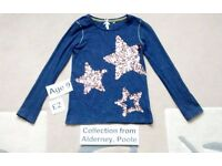 Girls Long-Sleeved Top - Age 9